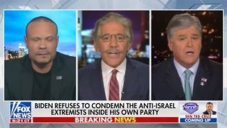 Geraldo Rivera Came For Dan Bongino Over Israel And Palestine On Hannity's Show: 'Stop Attacking Me, Punk!'