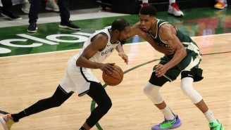 Giannis Antetokounmpo Talked About Appreciating A 'One In A Generation' Talent Like Kevin Durant