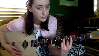 Frankie Cosmos' Greta Kline Turns In An Intimate Bedroom Cover Of Taylor Swift's 'Invisible String'