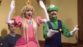 Grimes Appeared On 'SNL' As Princess Peach To 'Try' Her Hand Acting