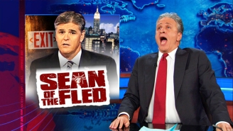 Sean Hannity Admits That He Actually Agrees With Jon Stewart On A 'Bullsh*t' Issue That's Impacting Veterans' Health