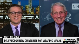 MSNBC's Chris Hayes Insists There's 'Literally No Way' He'd Lose To Dr. Fauci In 1-On-1