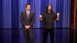 Dave Grohl Took Over 'The Tonight Show' By Guest-Hosting Alongside Jimmy Fallon