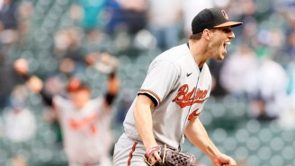 Orioles Pitcher John Means Threw A No-Hitter Where The Only Runner Reached Base On A Strikeout
