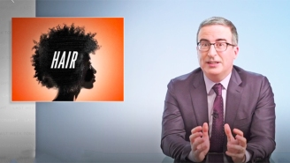John Oliver Recruited Leslie Jones To Deliver A Forthright PSA About Black Hair