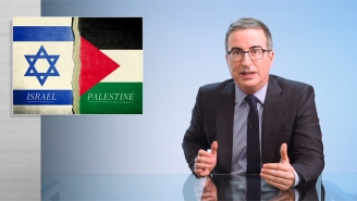 John Oliver Went HAM On Israel And Accused It Of Committing 'War Crimes' And 'Apartheid' Against Palestinians, While Also Blasting The U.S. For Enabling The Atrocities