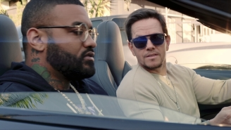 Mark Wahlberg Wrecks Joyner Lucas' Car In The High-Speed 'Zim Zimma' Video. With Diddy And George Lopez