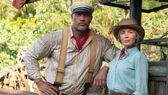 Emily Blunt Roasted The Rock For Revealing How She 'Ghosted' Him During The Casting For 'Jungle Cruise'