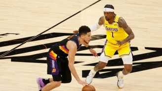 Kentavious Caldwell-Pope Left Game 3 With A Left Quad Contusion