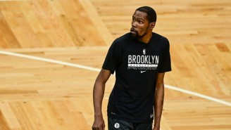 Kevin Durant Said The Celtics Fan Who Threw A Bottle At Kyrie Needs To 'Grow The F*ck Up'
