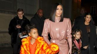 North West Hilariously Accuses Kim Kardashian Of Being A Fake Olivia Rodrigo Fan