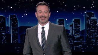 Jimmy Kimmel Was Highly Amused By The Celebrity Guests At Mike Lindell's Poorly-Attended Rally