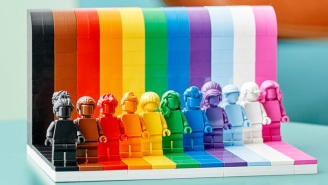 LEGO Has Unveiled A New 'Everyone Is Awesome' LGBTQ Set To Celebrate Pride Month