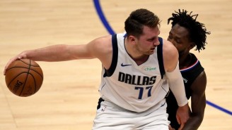 Luka Doncic Is Questionable For Game 4 With A Neck Strain