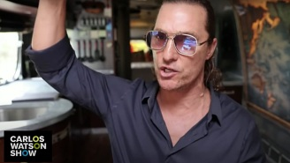 Matthew McConaughey Drags Anti-Maskers For Being 'Scared Of This Little Cotton Thing'