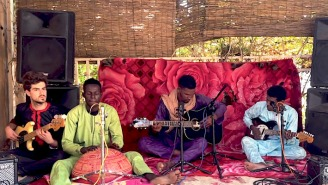 Mdou Moctar Brings His Guitar Virtuosity To NPR's Tiny Desk Concert Series