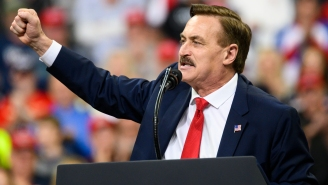 Mike Lindell Was Turned Away From A Republican Event After Vowing To Confront Two GOP Governors