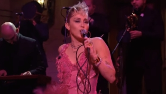 Miley Cyrus Covered Dolly Parton And Performed With The Kid Laroi On 'SNL'