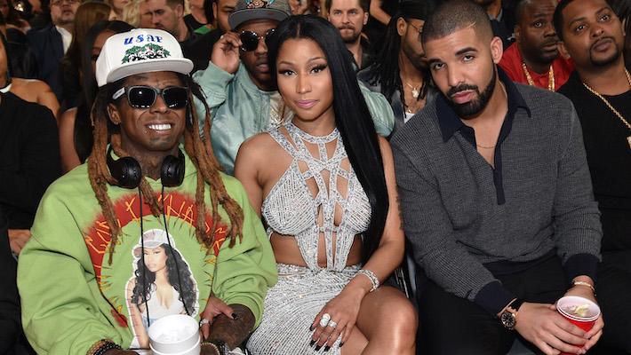 """Nicki Minaj -- """"Seeing Green"""" Feat. Drake and Lil Wayne"""