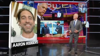Kenny Mayne Got Aaron Rodgers To Talk About His Issues With The Packers And Ended It By Saying 'F*ck You'