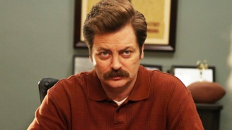 Nick Offerman Firmly Believes That Libertarian Ron Swanson Would 'Get The Damn Vaccine'