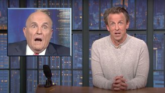 Seth Meyers Spent 10 Straight Minutes Roasting Rudy Giuliani For, Well, Being Rudy Giuliani