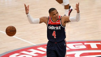 Russell Westbrook Now Owns Two Of The Three 20-Assist, 20-Rebound Games In NBA History