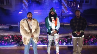 Sada Baby, Big Sean, And Hit-Boy Throw A Mansion Bash In The Psychedelic 'Little While' Video