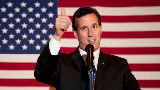 CNN Has Fired Rick Santorum Almost A Month After He Made Wildly Ignorant Comments About Native Americans