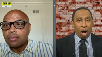Stephen A Smith Melted Down After Charles Barkley Said A Lakers Title Would Create 'A Serious Conversation' About LeBron Vs. MJ
