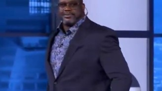 Shaq Nearly Walked Off The 'Inside The NBA' Set After Charles Barkley Called James Harden The Best 1-On-1 Player Ever