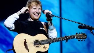 Ed Sheeran Hammed It Up To Help Courteney Cox Recreate That Epic 'Friends' Dance Routine