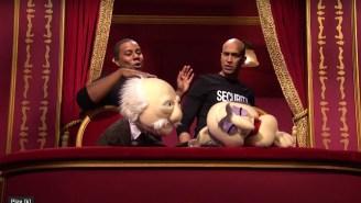 Keegan-Michael Key Violently Dealt With Some Muppet Hecklers On 'SNL'
