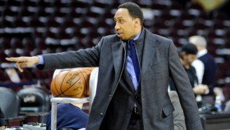 Stephen A. Smith Got In A Slow-Motion Shootout On 'General Hospital'