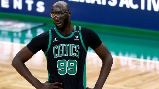 Tacko Fall Couldn't Help But Laugh At Mike Breen Accidentally Calling Him 'Taco Bell'