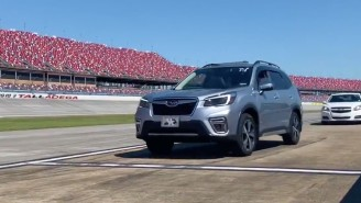Talladega Superspeedway Is Getting People Vaccinated Then Letting Them Take Laps On The Track In Their Own Cars