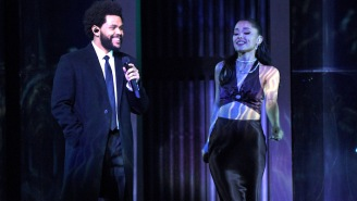 The Weeknd And Ariana Grande Perform 'Save Your Tears' For The First Time At The iHeartRadio Music Awards