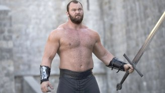 The Mountain From 'Game Of Thrones' Lost A Bunch Of Weight But Somehow Looks Even More Intimidating