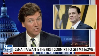 Tucker Carlson Is The Latest Conservative To Blast 'Disgusting' John Cena For 'Groveling' To China