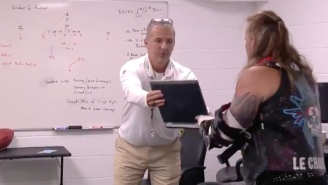 New Jags Coach Urban Meyer Lended Chris Jericho A Hand At AEW Double Or Nothing
