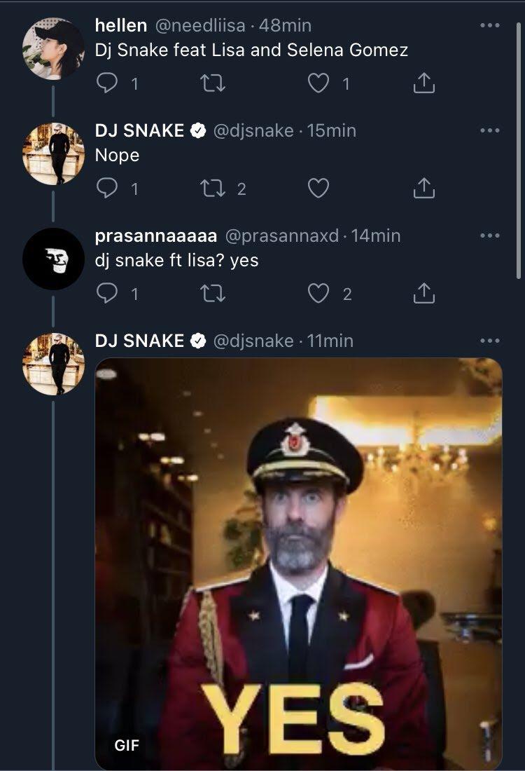 DJ Snake Bikin Lagu Sama Lisa BLACKPINK