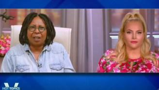Whoopi Goldberg Exploded At Meghan McCain During A Segment On Marjorie Taylor Greene