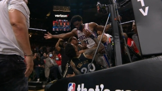 Joel Embiid And John Collins Got Into It Late In The Fourth Quarter Of Game 6