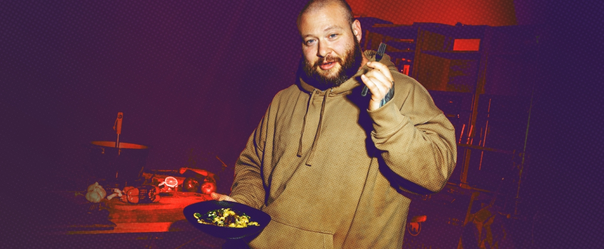 Action Bronson Talks Self-Help, Diet, And How To Make Plant-Based Food That's Legitimately Good