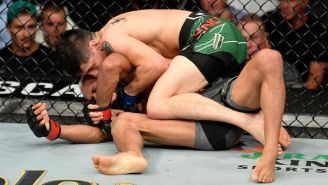 Brandon Moreno Became The UFC's First Mexican-Born Champion By Submitting Deiveson Figueiredo And Winning The Flyweight Belt