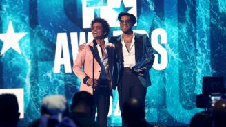 Silk Sonic Delivered A Smooth Rendition Of 'Leave The Door Open' At The 2021 BET Awards