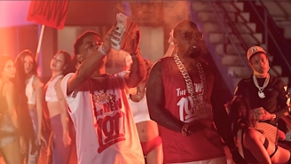 Gucci Mane And Pooh Shiesty Aim For A Championship In Their 'Like 34 & 8' Video