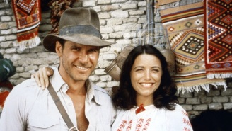 Karen Allen On The Time She Actually Punched Harrison Ford While Filming 'Raiders Of The Lost Ark'