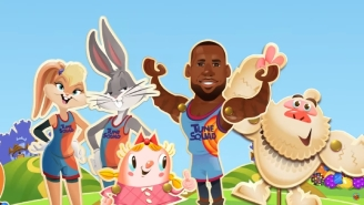 You Can Now Play 'Candy Crush' With LeBron James And The Tune Squad