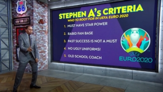 Stephen A Smith Jumped Right Into Soccer By Picking A Team For Euro 2020